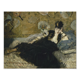 Edouard Manet - Woman with Fans Poster