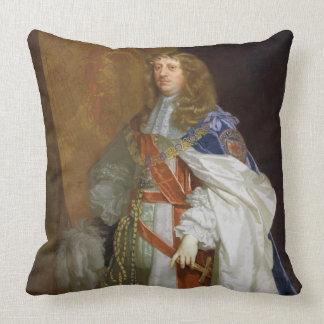 Edouard Montagu, ęr comte du sandwich, c.1660-65 Coussins Carrés