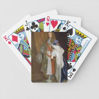 Edouard Montagu, ęr comte du sandwich, c.1660-65 ( Cartes De Poker