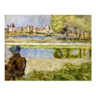 Edouard Vuillard- ChateauofFontainebleau Postcard