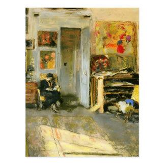 Edouard Vuillard: Madame Losse Hessel in Studio Postcard