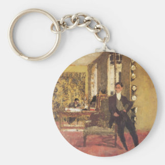 Edouard Vuillard The Art Dealers 1908 Keychain