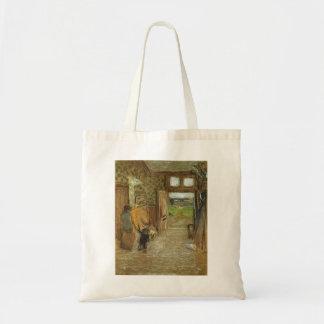 Edouard Vuillard : Vestibule au mer de Jacut de sa Sac En Toile Budget
