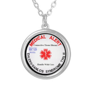 EDS 3 POTS MCAD Medical Alert Necklace