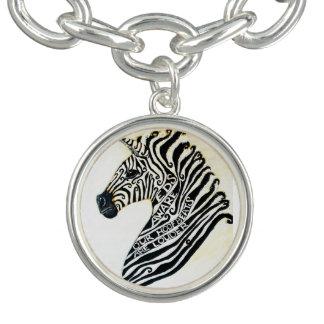 EDS Aware Zebra Charm Bracelet