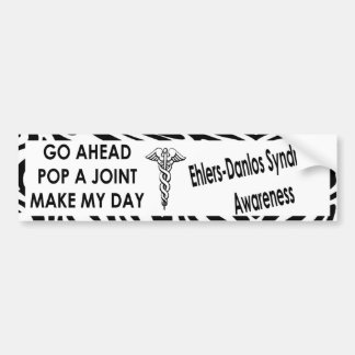 EDS Awareness-POP A JOINT Bumper Sticker