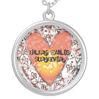 EDS Survivor Silver Plated Necklace