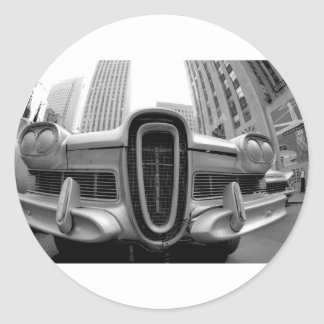 Edsel in NYC Round Sticker