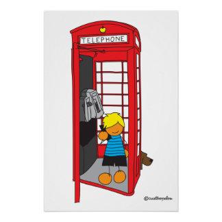 Edu in London Poster