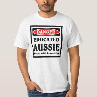 Educated Aussie. T-Shirt
