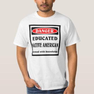 Educated Native American. Tee Shirts