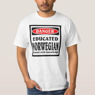 Educated Norwegian T-Shirt