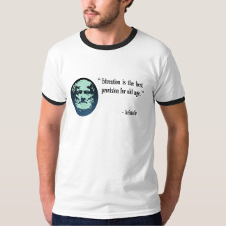 Education Aristotle T-shirt