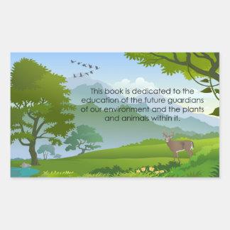 Education Book Plate Sticker