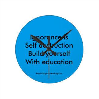 Education Clock