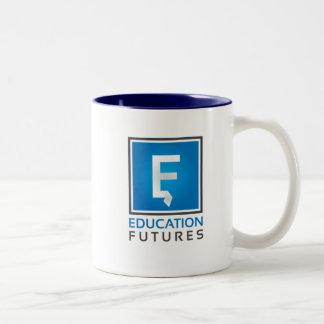 Education Futures mug - blue