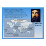 Education, History,  Magellan's voyage Poster