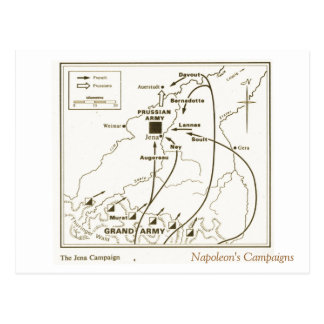 Education, History, Napoleon, Jena Campaign Postcard