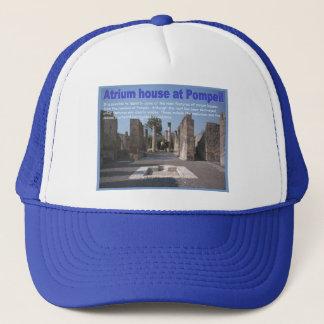 Education, History, Romans, Atrium house, Pompeii Trucker Hat