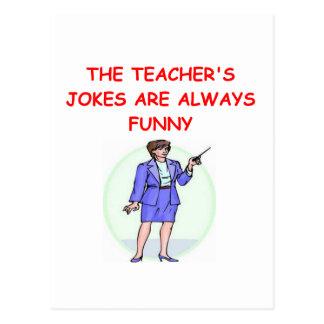 education joke post cards