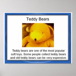 Education,  Lifeskills,  Toys, Teddy Bears Posters
