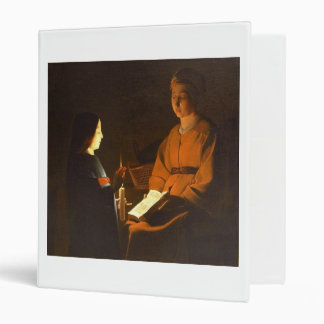 Education of the Virgin by Georges de la Tour Binders