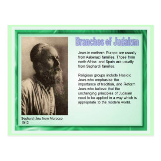 Education,  Religion,  Judaism,Branches of Judaism Postcard