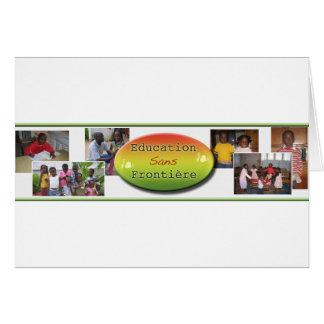 Education Sans Frontiere Card