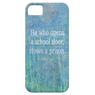 Education teacher teaching quote Victor Hugo iPhone 5 Covers