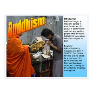 Education, World Religions,  Buddhism Postcard