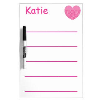 Educational Dry Erase Board Write Name Practice