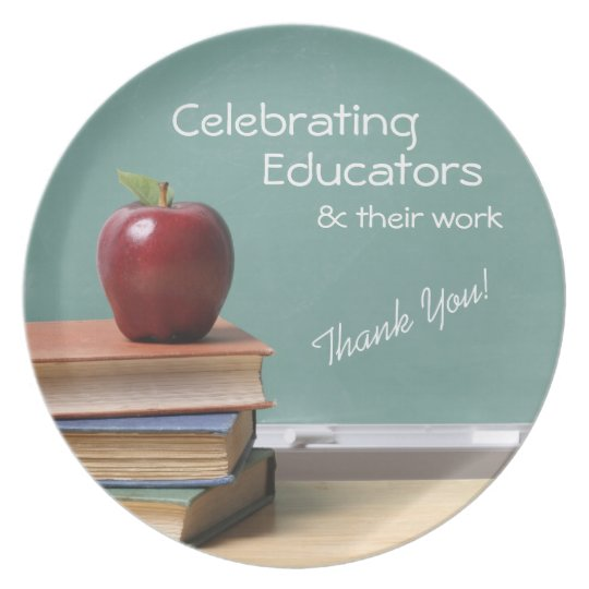 Educator Appreciation Treat Plate