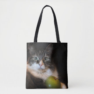 Educator with Cattitude Tote Bag