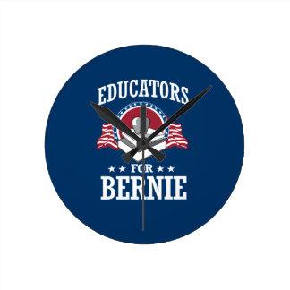 EDUCATORS FOR BERNIE SANDERS WALLCLOCK