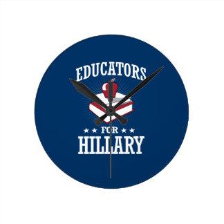 EDUCATORS FOR HILLARY CLOCK