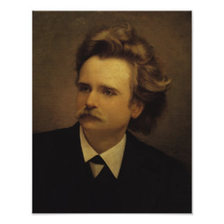 Edvard Hagerup Grieg Poster