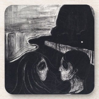 Edvard Munch Attraction I Drink Coaster