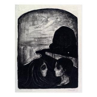 Edvard Munch Attraction I Postcard