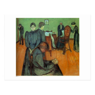 Edvard Munch - Death In The Sickroom 1895 Postcard