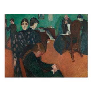 Edvard Munch - Death in the Sickroom Postcard