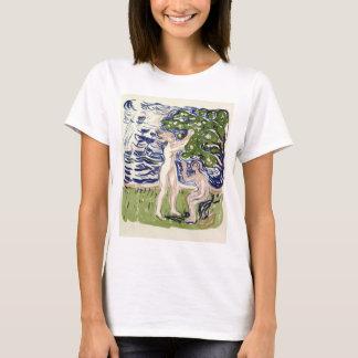 Edvard Munch Girls Picking Apples T-Shirt