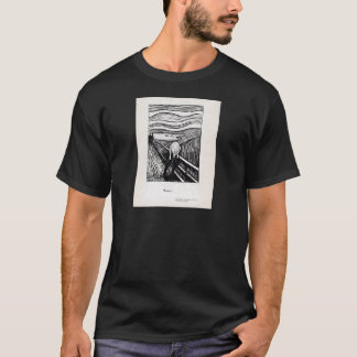 Edvard Munch Illustration The Scream T-Shirt