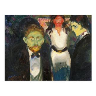 Edvard Munch - Jealousy Postcard