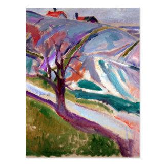 Edvard Munch Landscape, Kragerø Postcard