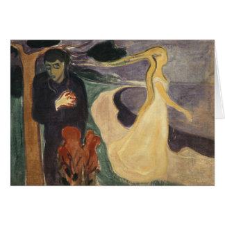 Edvard Munch - Separation Card