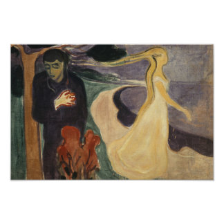 Edvard Munch - Separation Poster