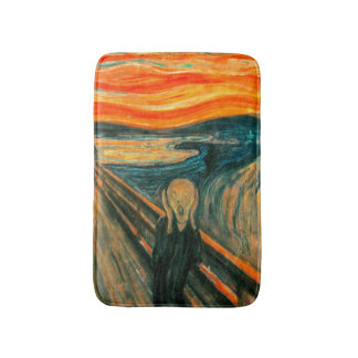 EDVARD MUNCH - The scream 1893 Bath Mat