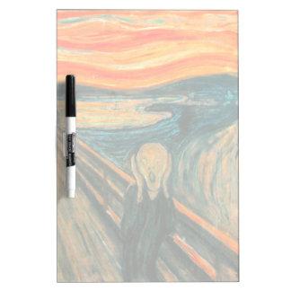 EDVARD MUNCH - The scream 1893 Dry Erase Board