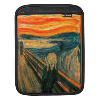 EDVARD MUNCH - The scream 1893 iPad Sleeve