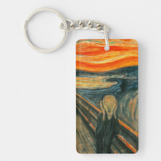 EDVARD MUNCH - The scream 1893 Keychain